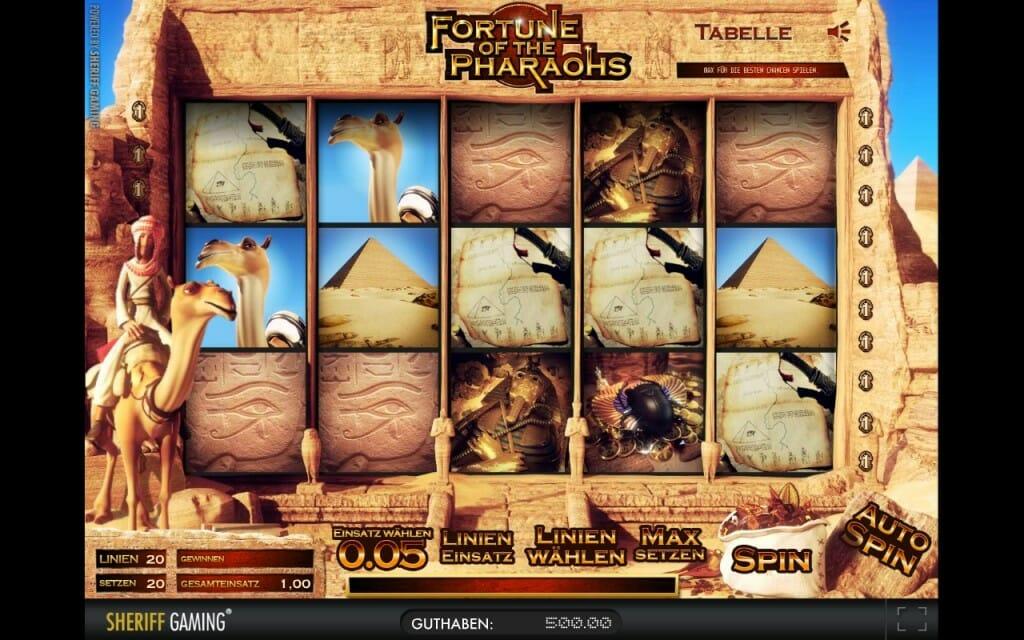 Fortune of the Pharaos Vorschau