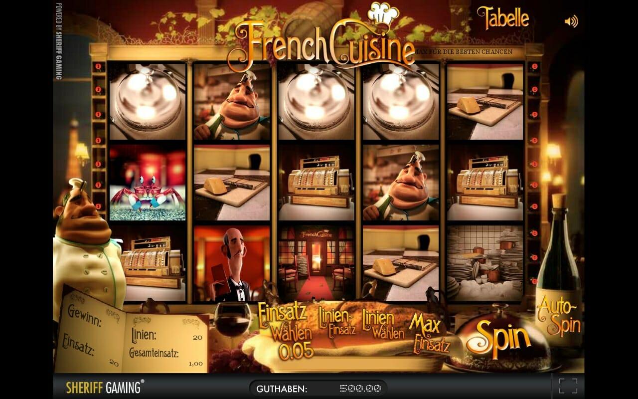 Merkur's 3D Spiel French Cuisine
