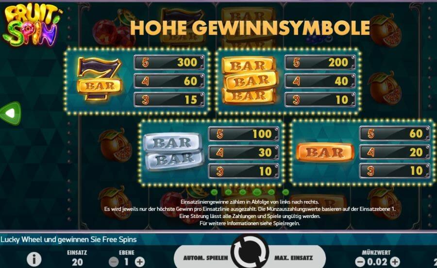 kostenloses online casino fruit casino
