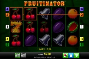 fruitinator gewinn