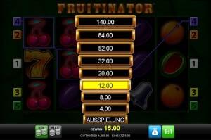 fruitinator risikoleiter