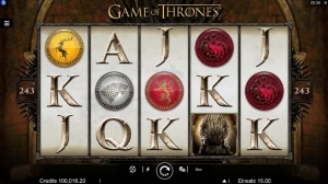 Game of Thrones Vorschau Automat