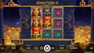 Gods of Gold Infinireels Mobile