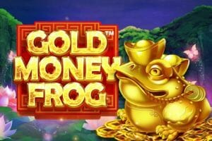 Gold Money Frog Logo
