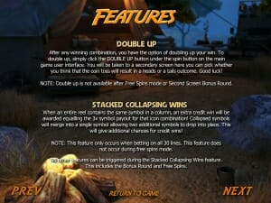 gold raider doubleup feature