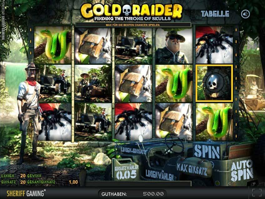 Gold Raider Vorschau