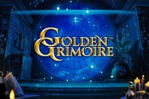 Golden Grimoire Slot Logo