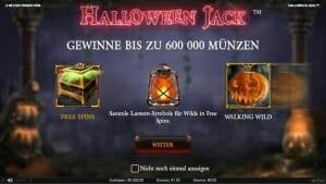 Halloween Jack Start