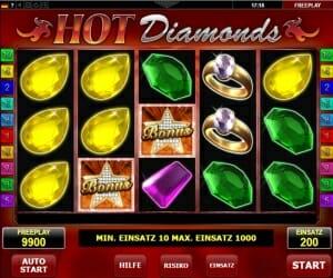 Hot Diamond Vorschau