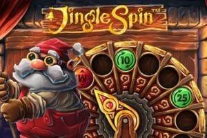 Jingle Spin Slot Logo