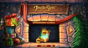 Jingle Spin Bonus Feature