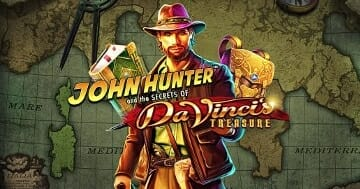 John Hunter DaVincis Treasure Logo