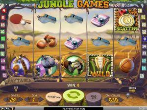 Jungle Games Mobile