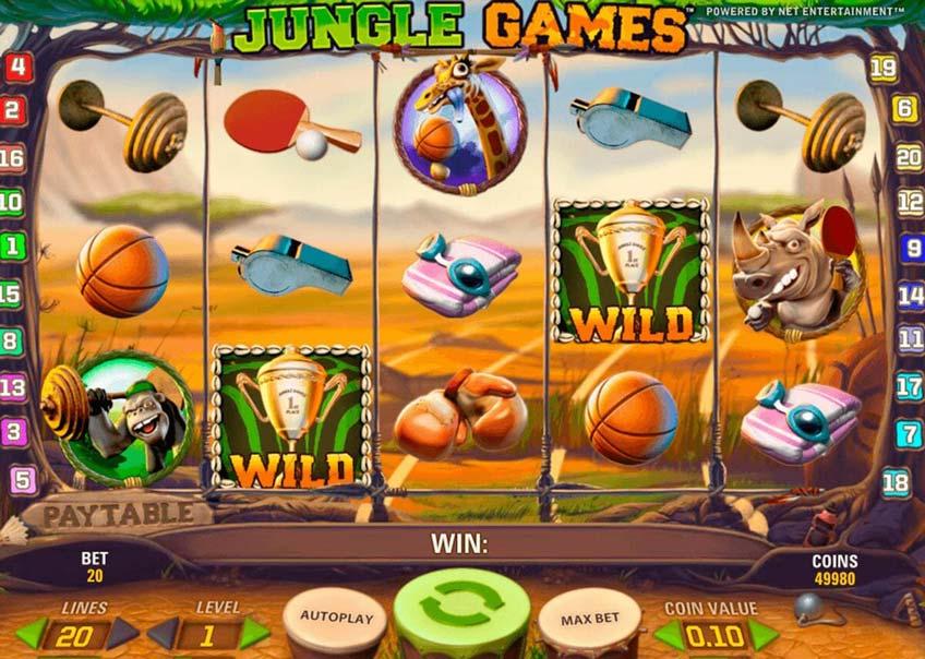 Jungle Games Vorschau