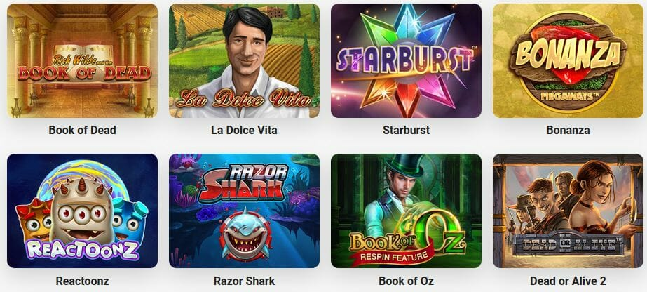 Leo Vegas Spielangebot