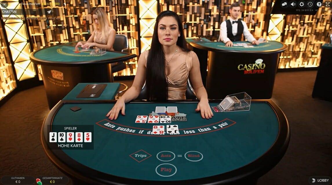 Poker Live Casino