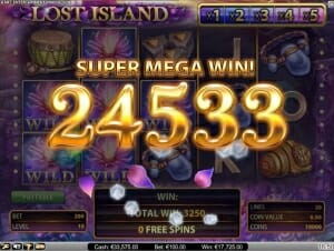 Lost Island Super Mega Win