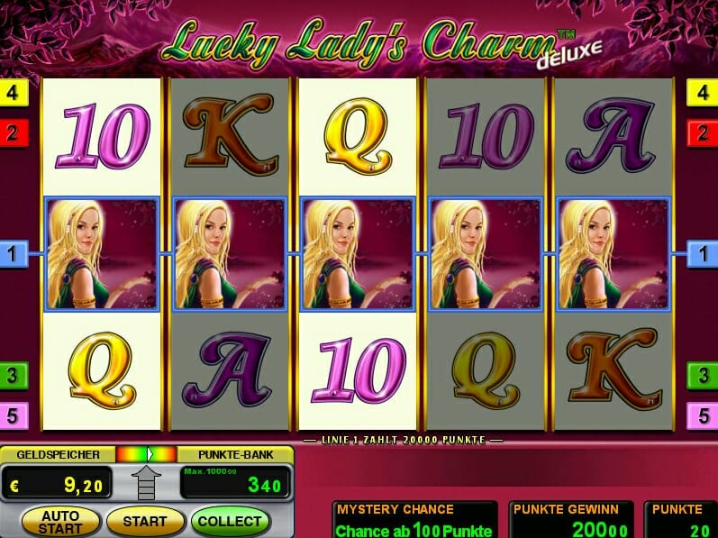 lucky ladys charm spielen