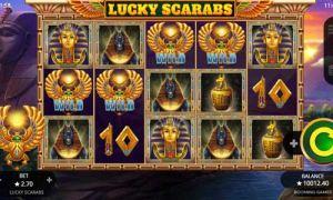 Lucky Scarabs Slot Mobile