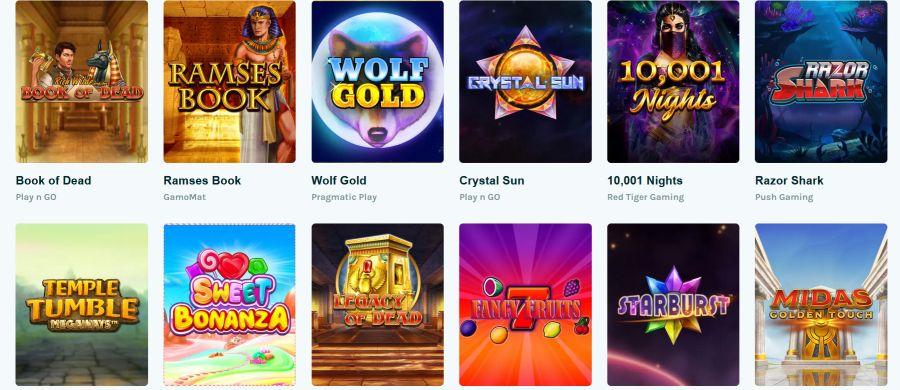 Lucky Days Casino Spiele 2021