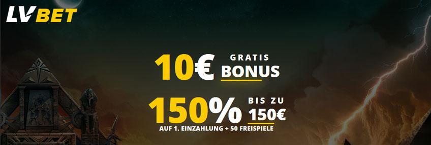 LV Bet Casino Bonus Banner