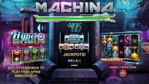 Machina Megaways Jackpot