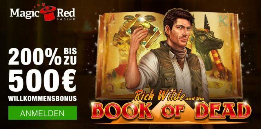 Magic Red Casino Bonus 2021