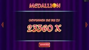 Medallion Megaways Gewinn