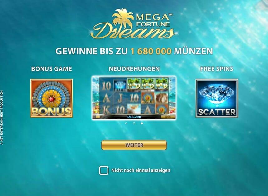 online casino deutschland mega fortune