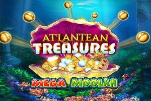 Mega Moolah Atlantean Treasures Logo