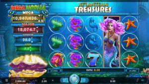 Mega Moolah Atlantean Treasures Mobile