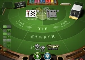 merkur baccarat player wins