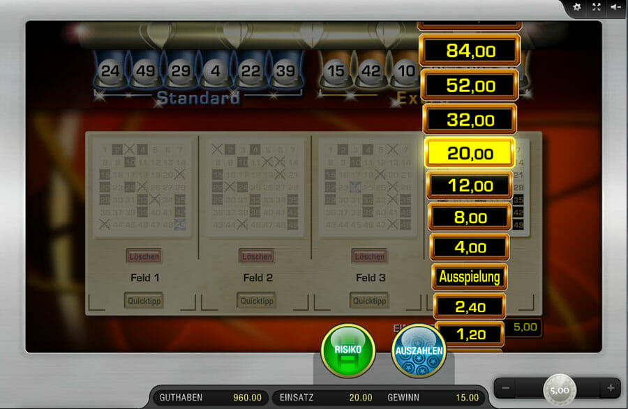 Lotto Extraziehung