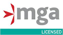 MGA lizenziert