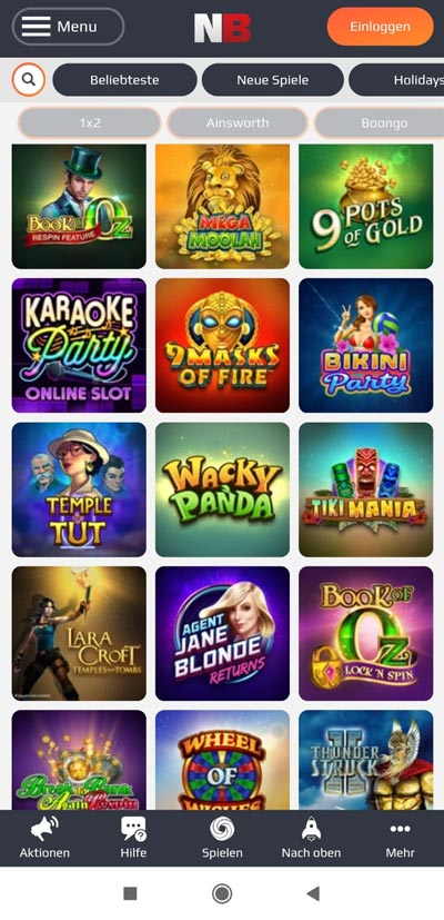 Microgaming mobile NetBet