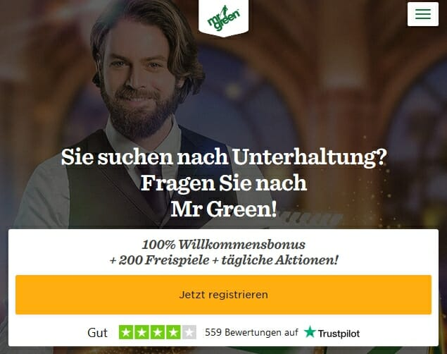 Mr Green Casino Bonus 2019