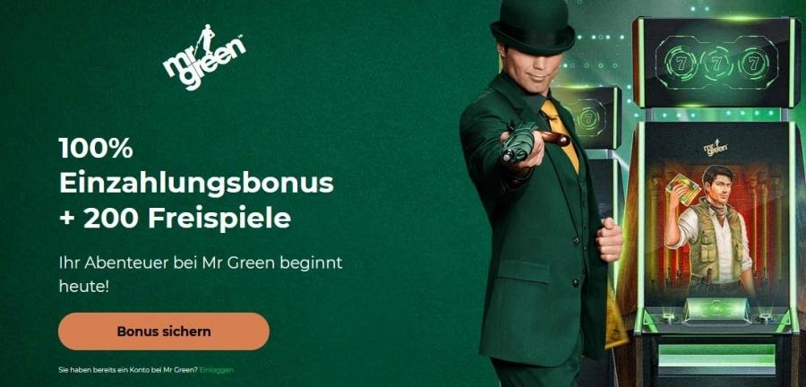 Mr. Green Casino Bonus 2021