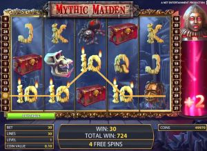 Mythic Maiden Mobile