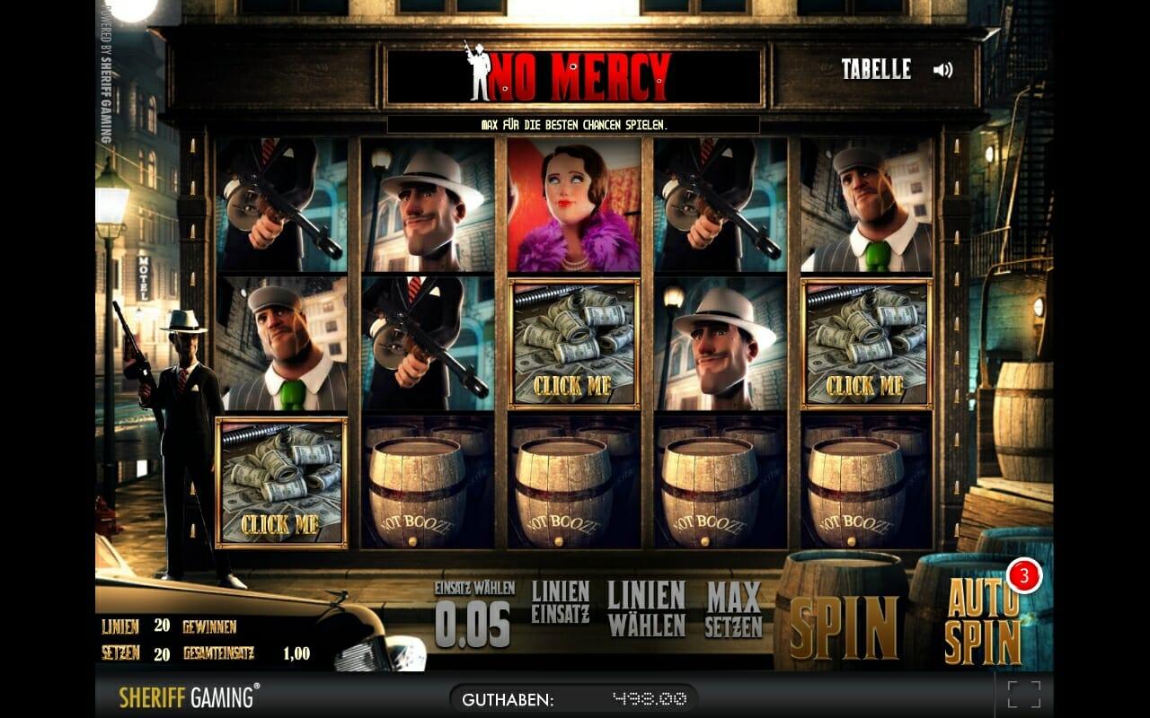 Merkur 3D Spiel No Mercy