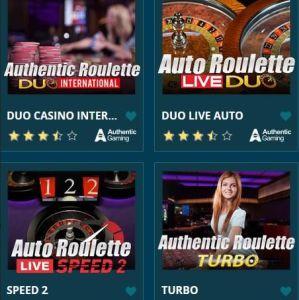 Platin Casino Live Spiele 2021