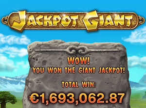 Playtech Jackpot Gewinn