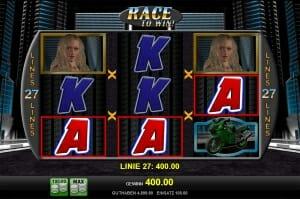 race to win gewinn