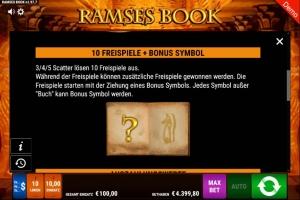 Ramses Book Vorschau Freispiele