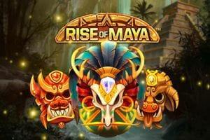 Rise of Maya Slot Logo