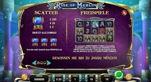 Rise of Merlin Scatter