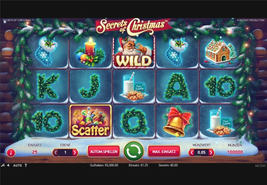 Secrets of Christmas - NetEnt Spiele - OnlineCasino.at