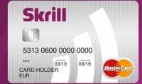 Skrill Kreditkarte