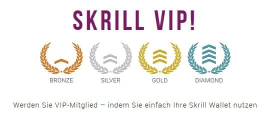 Skrill VIP Programm