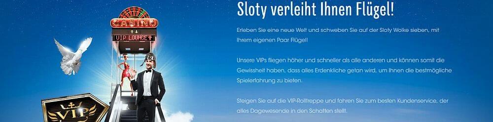 Sloty VIP Angebot