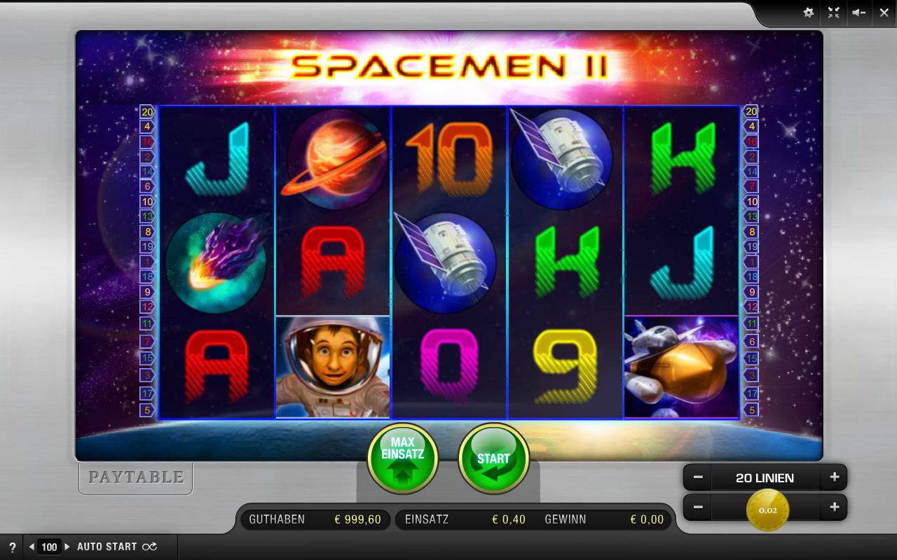 Spacemen 2 Slots - Spielen Sie das Merkur Casino-Spiel gratis